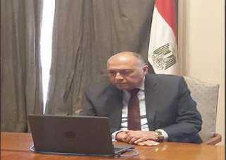 شكري: نقل أحد الأطراف الإقليمية مقاتلين متطرفين من سوريا لليبيا يزيد من تفاقم الوضع