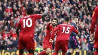 بث مباشر مباراة ليفربول وليدز يونايتد في الدوري الانجليزي