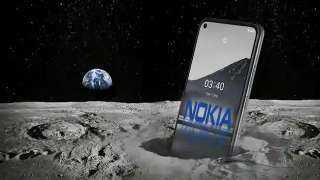 نوكيا تبني أول شبكة هواتف محمولة على القمر لوكالة ناسا