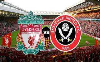 بث مباشر لمباراة ليفربول وشيفيلد يونايتد في الدوري الانجليزي