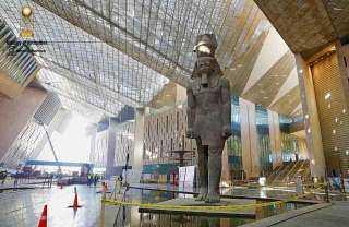 الأعلى للآثار: تم الانتهاء من 97% من أعمال المتحف الكبير