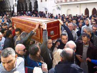 تشييع جثمان الشهيد ياسر عسر من مسقط رأسه في القليوبية