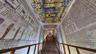 بعد إغلاق 12 عامًا.. الآثار تعيد افتتاح مقبرة الملك رمسيس الأول أمام الزوار