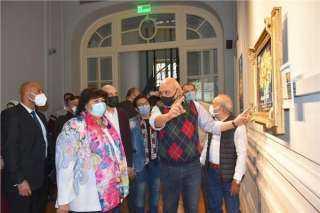 وزيرة الثقافة: تطوير المتاحف هو إثراء للبنية الثقافية في مصر وتوثيق للذاكرة الجمعية
