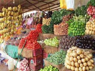 أسعار الخضروات والفاكهة في السوق اليوم