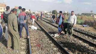 انتشال جثث ضحايا حادث قطار الإسماعيلية ونقلهم للمشرحة