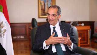 وزير الاتصالات: مجمع الوثائق المؤمنة خطوة هامة على طريق مصر الرقمية