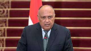 شكرى: لا توجد دول صديقة مع مصر تمول سد النهضة الإثيوبى