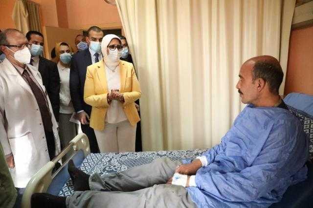 حادث قطار طوخ.. متحدث الصحة: لا يمكن الجزم بوجود وفيات حتى الآن