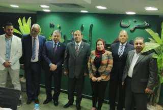 رئيس حزب مصرالحديثة يعتمد تشكيل امانة المعادى وطره