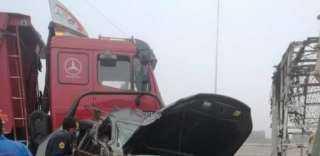 مصرع شخصين وإصابة 46 في حادث تصادم بالعاصمة الإدارية