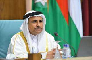 """""""العسومي"""" يؤكد دعم البرلمان العربي لمخرجات الاجتماع غير العادي لوزراء الخارجية العرب لدعم الأمن المائي لمصر والسودان"""