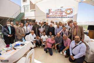 حزب مصرالحديثة يشارك فى ملتقى المحبة والسلام بمستشفى نقادة