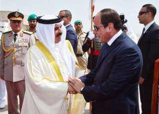 الرئيس السيسي يستقبل ملك البحرين بشرم الشيخ
