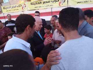 برعاية حزب مصر الحديثة تنظيم دورة رياضية بقرية تل الكاشف بمركز الزرقا بدمياط