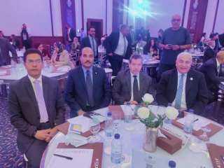 دكتور احمد بيومى رئيس جامعة السادات يشارك فى مؤتمر التحول الرقمى
