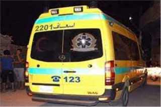 بالأسماء.. إصابة 4 شباب في #حادث مروع لانقلاب سيارة ملاكي