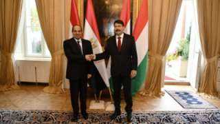 رئيس المجر: مصر أهم شريك اقتصادي واستراتيجي لنا في العالم العربي