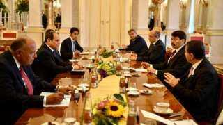 الرئيس السيسي: الاستثمارات والصناعات المجرية لديها فرصة كبيرة للتواجد فى السوق المصرية