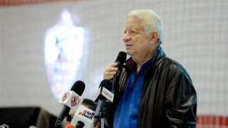مرتضى منصور يعلن قراره النهائي بشأن كارتيرون وبعض لاعبي الزمالك